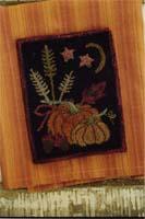 Fall Harvest Setting Punchneedle