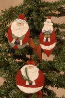 Ho Ho Ho Santas Ornaments