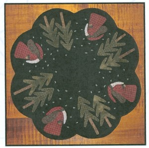 Primitive Gatherings - Old St. Nick Table Mat