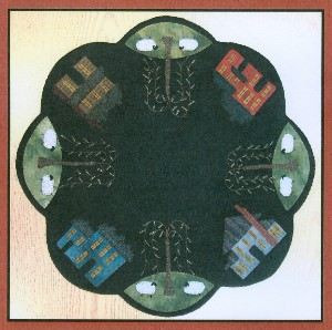 Primitive Gatherings - Saltbox Table Mat