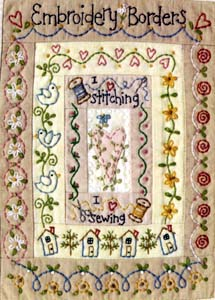 Embroidery Border Book