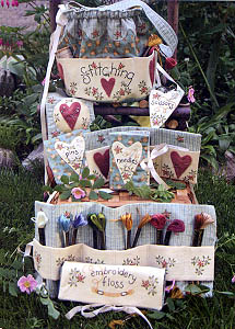 Stitchery Basket and Accessories