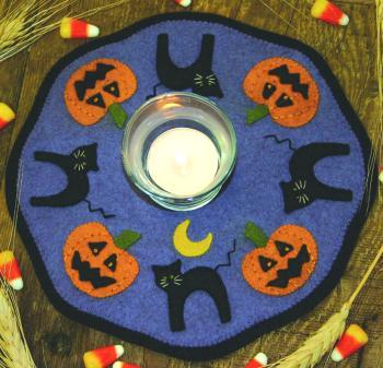 Halloween Candle Mat