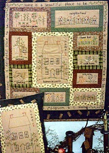 Heaven on Earth Wall Quilt