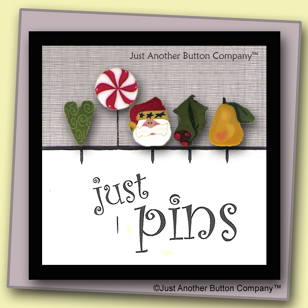 Just Another Button Company Just Pins Holiday
