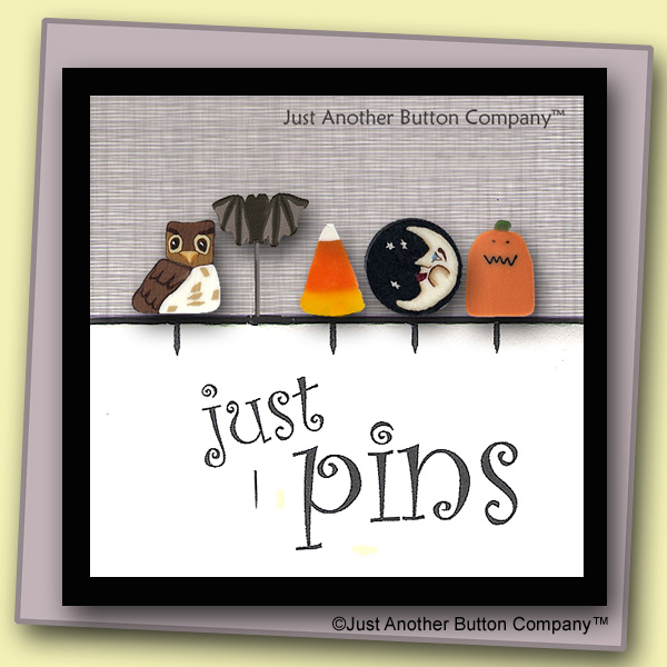 Just Another Button Company Just Pins Halloween