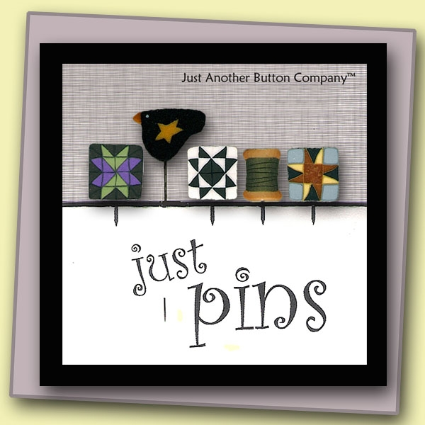 Just Another Button Company Just Pins Quilt