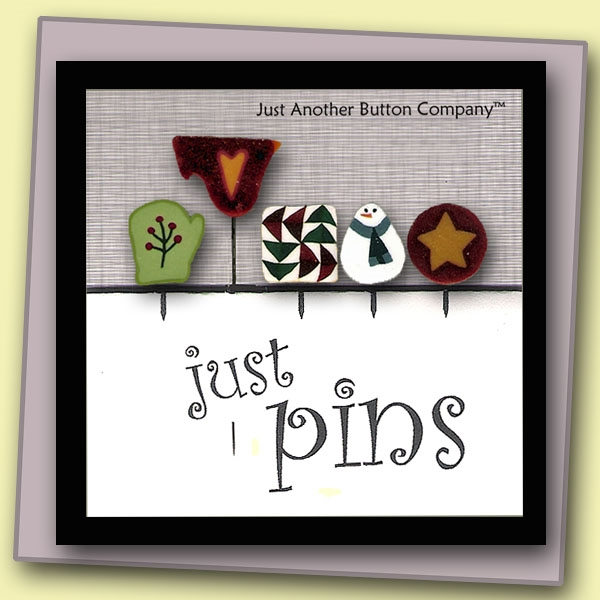 Just Another Button Company Just Pins Snowman Winter