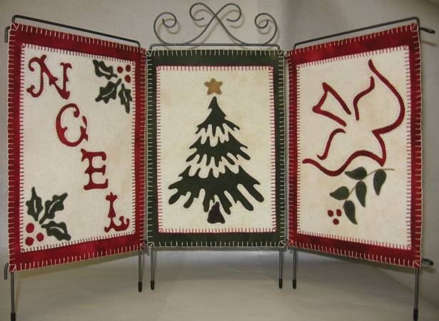Lilly Anna Stitches - Holiday Trio