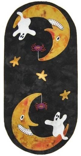 Lilly Anna Stitches - Boo Moon Mini Mat